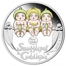 2015 50c Snugglepot & Cuddlepie 1/2oz Silver Proof