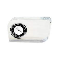 Crystal Glass Desk Clock