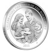 2015 $1 Royal Baby Princess Charlotte 1oz Silver Proof
