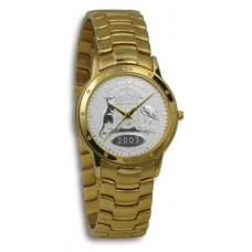 Contemporary Florin Gold Case & Bracelet