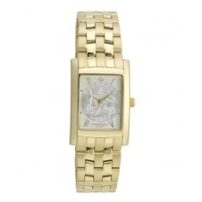 Elegance Sixpence Small Gold Case & Bracelet