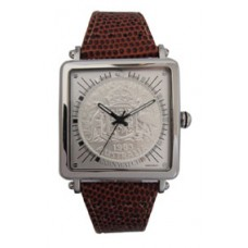 Gen-X Florin Silver / Brown leather..