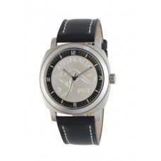 Gen-X Kangaroo Penny Silver / Black leather..