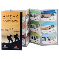 2016 ANZAC to Afghanistan 14-Coin Collection