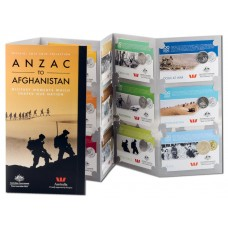 2016 ANZAC to Afghanistan 14-Coin Collection..