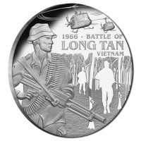2016 $1 Battle Of Long Tan Silver Proof