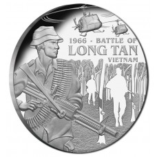 2016 $1 Battle Of Long Tan Silver Proof..