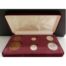 Australia 1935 gift pack coin set Birthday Anniversary 80th