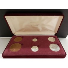 Australia 1946 gift pack coin set Birthday Anniversary with the 1945 Penny